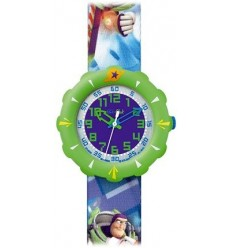 Ceas mana copii Swatch Flik Flak Toy Story Buzz FLS035