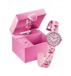 Ceas copii Swatch Flik Flak Dancing Mouse Music Box FTB015