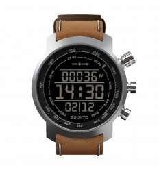 Ceas de mana barbatesc Suunto Watches Elementum Terra Brown Leather SS018733000