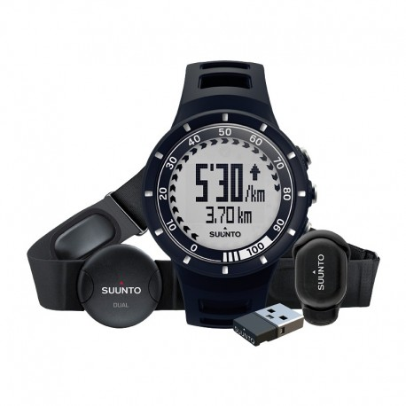 Ceas de mana barbatesc Suunto Watches Quest Black Running Pack SS018156000