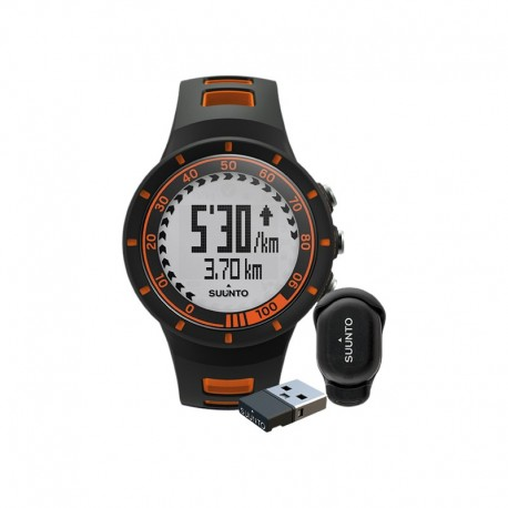 Ceas de mana unisex Suunto Quest Orange Speed Pack SS018518000