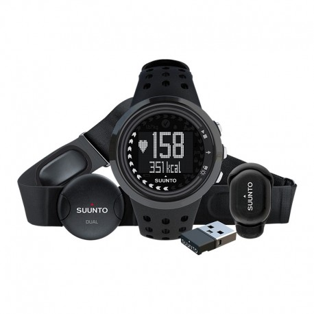 Ceas de mana unisex Suunto M5 All Black Running Pack SS016648000