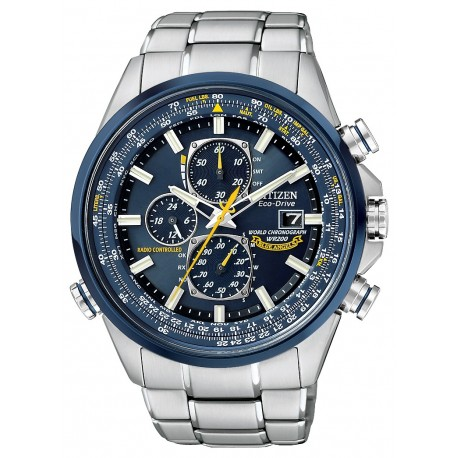 Ceas Citizen Perpetual Blue Angels World Chrono A-T AT8020-54L