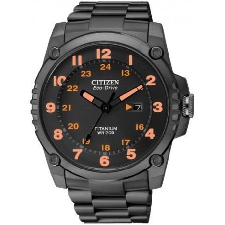Ceas de mana barbatesc Citizen Super Titanium BJ8075-58F