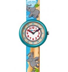 Ceas de mana copii Swatch Flik Flak Elephantinopolis FBN088