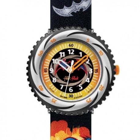 Ceas de mana copii Swatch Flik Flak Batman Brave&Bold FFL004