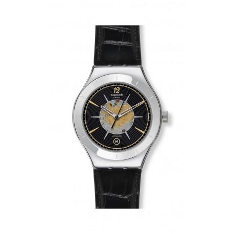 Ceas de mana unisex Swatch Dark Sky Automatic YAS407
