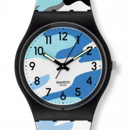 Ceas de mana Swatch Hiding Blue GB263