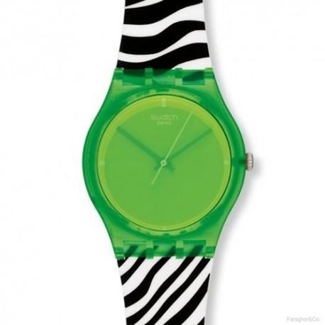 Ceas de mana Swatch Green Zeb GG210