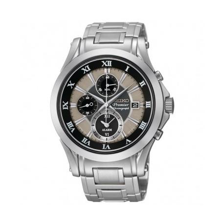 Ceas de mana barbatesc original Seiko Watches Premier Chonograph SNAF17P1