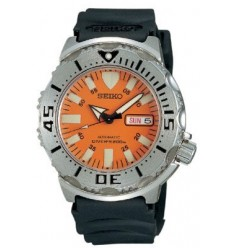 Ceas de mana barbatesc Seiko Watches Men's Orange Monster Automatic Diver SKX781K3