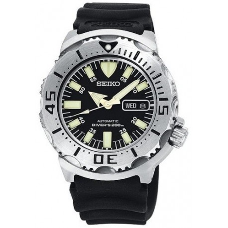 Ceas de mana barbatesc Seiko Watches Men's Black Monster Automatic Diver SKX779K3