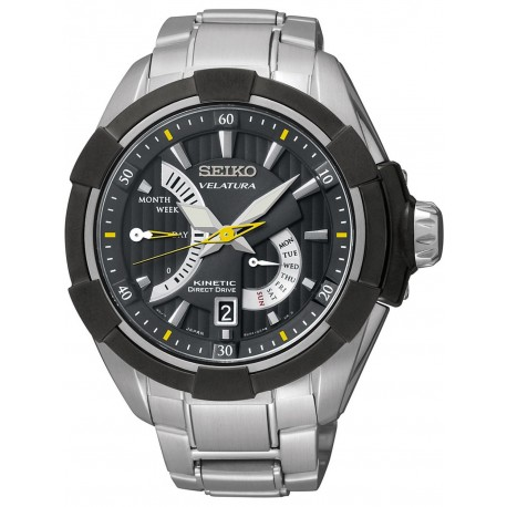 Ceas de mana barbatesc Seiko Watches Velatura Kintetic Direct Drive SRH015P1