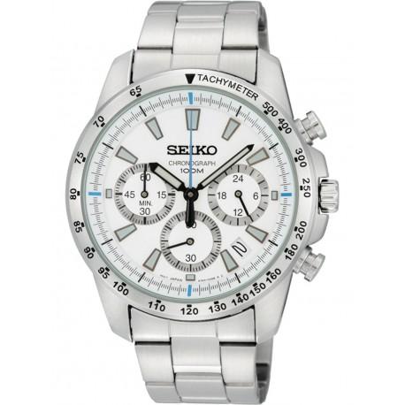 Ceas de mana barbatesc Seiko Watches Sports Chronograph SSB025P1