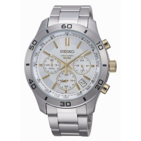 Ceas de mana barbatesc Seiko Watches Sports Chronograph SSB051P1
