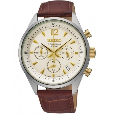 Ceas de mana barbatesc Seiko Watches Sports Chronograph SSB069P1