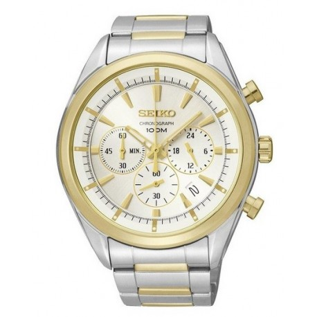 Ceas de mana barbatesc Seiko Watches Sports Chronograph SSB090P1
