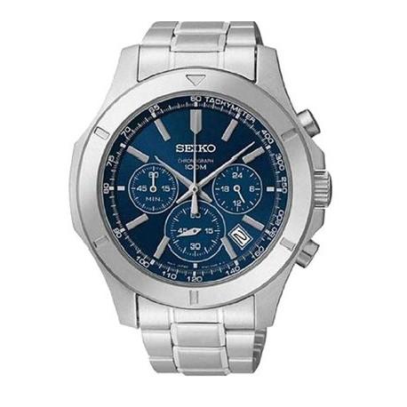 Ceas de mana barbatesc Seiko Watches Sports Chronograph SSB103P1