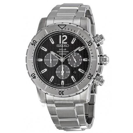 Ceas de mana barbatesc Seiko Watches Solar Chronograf SSC223P1