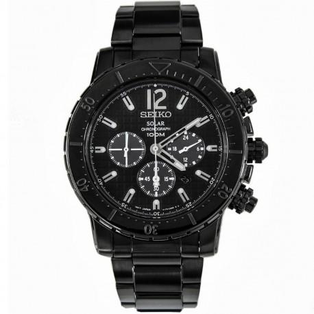 Ceas de mana barbatesc Seiko Watches Solar Chronograf SSC225P1