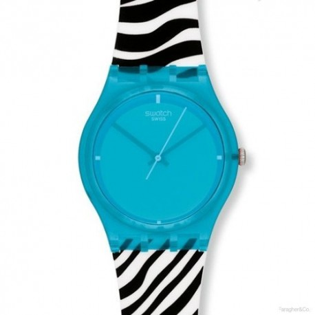 Ceas de mana Swatch Blue Zeb GL115