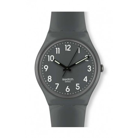 Ceas de mana Swatch Shiny Slate Grey GM179