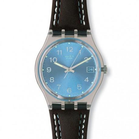 Ceas de mana Swatch Shiny Blue Shoco GM415