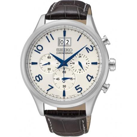 Ceas de mana barbatesc Seiko Cronograf SPC155P1
