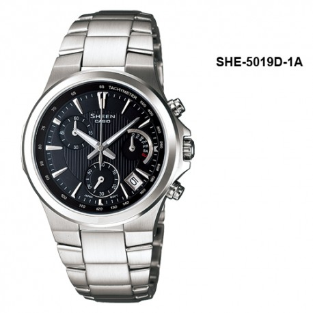 Ceas de mana dama Casio Sheen SHE-5019D-1A