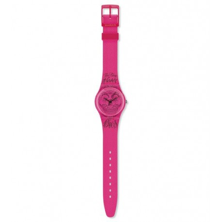 Ceas Swatch Time never dies Pink GP138