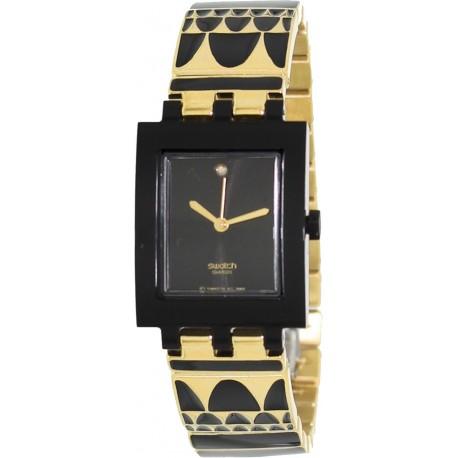 Ceas dama Swatch Gold Lux SUBB123G