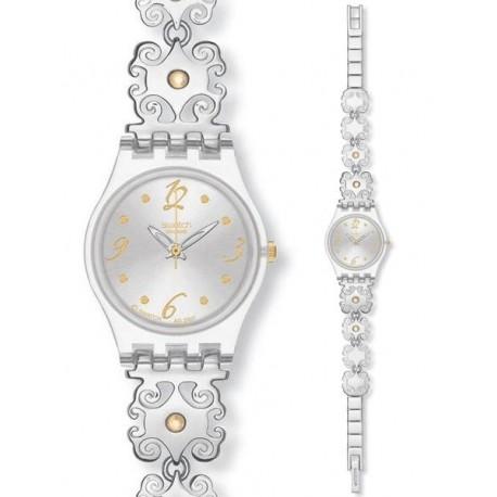 Ceas de dama Swatch Crystal Lace LK294G