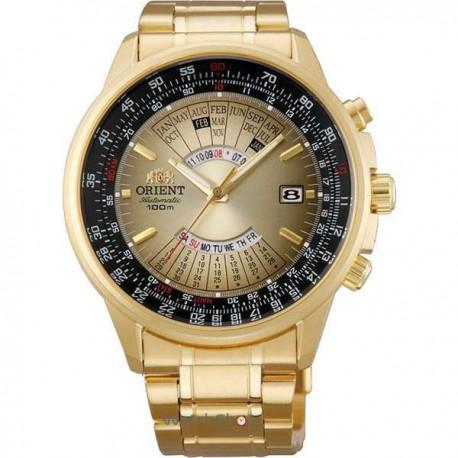 Ceas de mana auriu barbati Orient Multi Year Calendar FEU07004UX