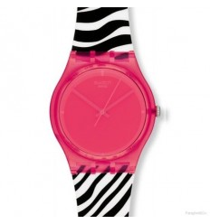 Ceas de mana Swatch Pink Zeb GR157